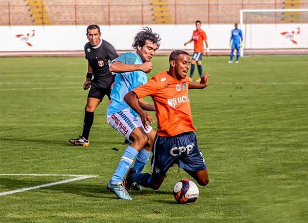 La Vallejo batalló hasta el final y pudo conseguir el triunfo ante Serrato Pacasmayo con goles en las postrimerías. (Foto: prensa UCV)