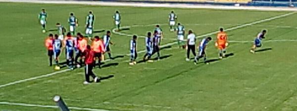 Cuando Los Caimanes y Salinas ingresaron a sus respectivas canchas, nadie imaginaba nueve goles en el encuentro. (Foto: Jesús Merma)