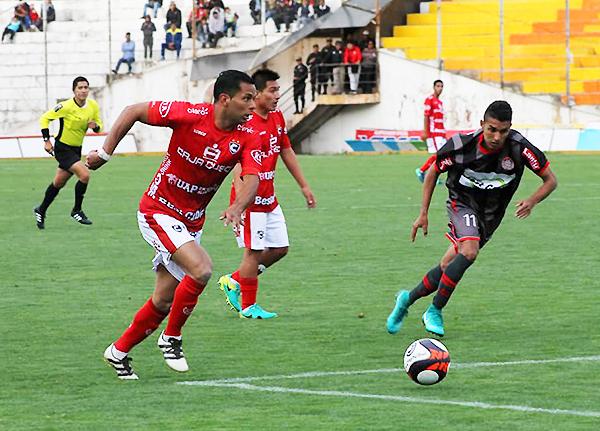 Matías Sen fue uno de los que apareció en el marcador. Ocho goles que hacen historia en el Cienciano - Huaral. (Foto: prensa Cienciano)