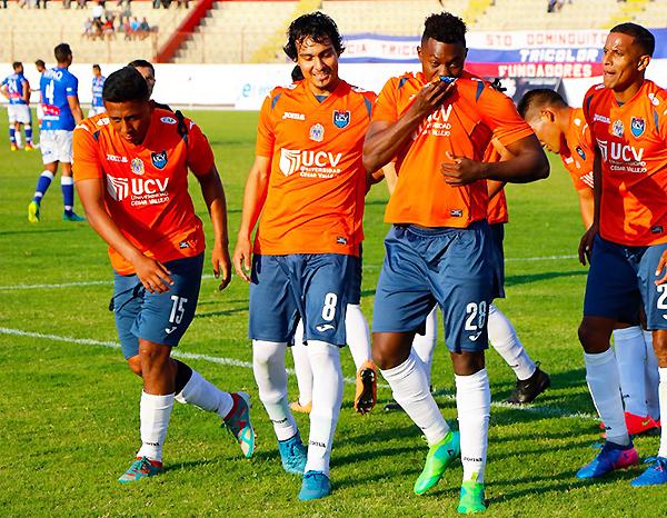 Rafael Agámez volvió a demostrar su rol determinante en la Vallejo. (Foto: prensa César Vallejo)