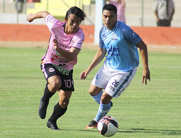 Mario Tajima superó en el duelo individual a Jhonatan Espinoza, aunque se calentó y acabó expulsado. (Foto: Jair Acosta / prensa ADFP-SD)
