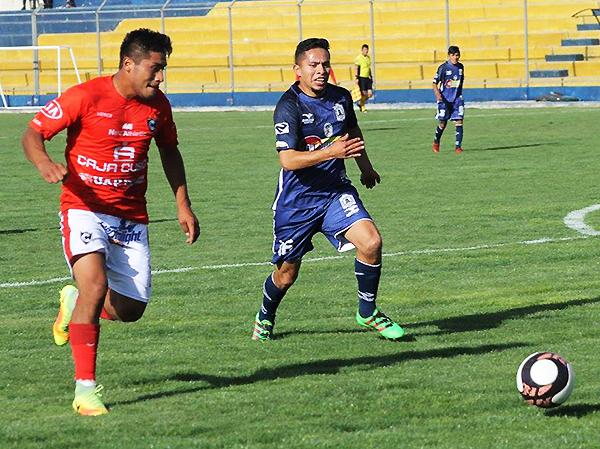Los equipos cusqueños ofrecieron un partidazo en Espinar. Salinas y Cienciano acabaron la temporada 2017 de la Segunda División en la mitad de la tabla. (Foto: prensa Cienciano)