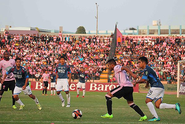 El Boys - Vallejo generó muchísima expectativa. Las tribunas del Miguel Grau lo reflejaron. (Foto: prensa ADFP-SD)