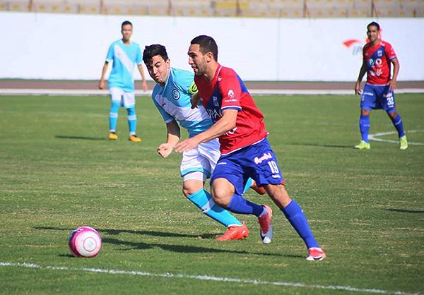 Aunque no hizo cuatro como Níger Vega, Breno Naranjo también tuvo un buen partido. (Foto: Diario La Industria de Trujillo)