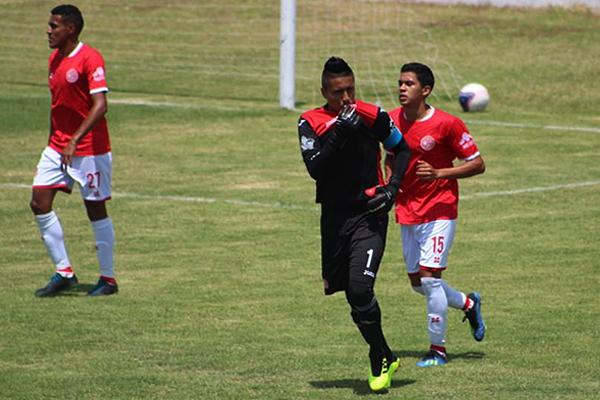 Éxar Rosales se paró para cambiar por gol un penal. Aurich estuvo intratable. (Foto: Fernando Cruzalegui / Prensa Juan Aurich)