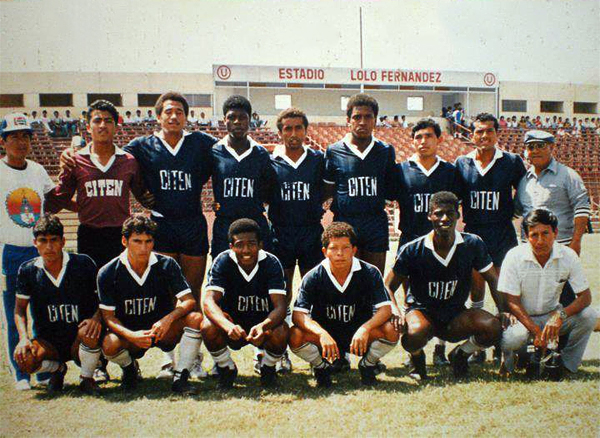 El CITEN del Callao en el viejo estadio 'Lolo' Fernández durante uno de sus partidos en la Segunda División (Foto: Facebook)