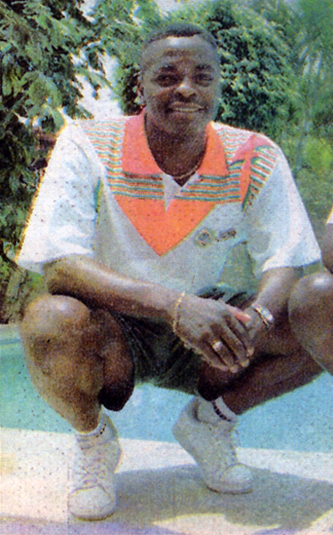 Lebo Morula llegó a Chiclayo para meter goles y, en cierte medida, cumplió con su trabajo (Recorte: diario Ojo, suplemento deportivo Super Crack)