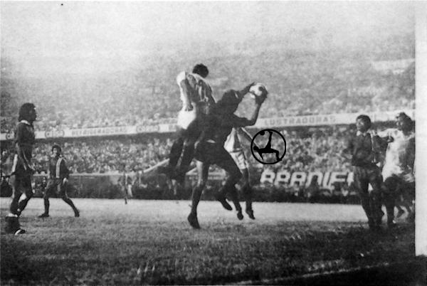La 'U' no logró romper el cerco defensivo sobre el área de Unión San Felipe (Recorte: diario La Crónica)