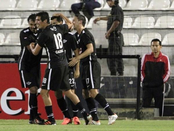 LA CLAVE. El empate por obra de Néstor Camacho fue importante para que Libertad supere futbolística y emocionalmente a Alianza. (Foto: AP)