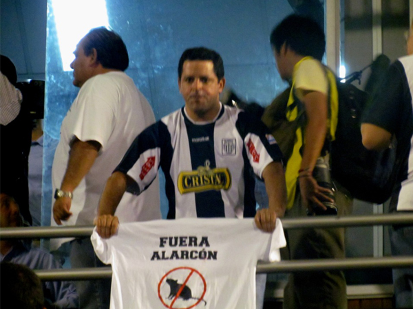 LA CANCHA. Poca gente y más protestas en Matute. Hubo apoyo pero se esperaba más. (Foto: José Salcedo / DeChalaca.com)