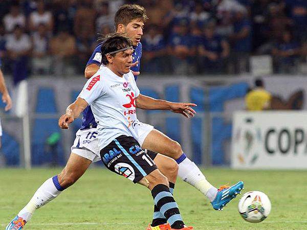 La capacidad de respuesta de Real Garcilaso no se hizo presente en el Mineirao donde jugadores como Ramón Rodríguez cumplieron una baja actuación (Foto: EFE)