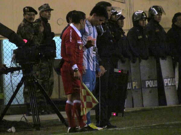 EL CAPO: El minuto clave del partido para Emelec fue en el que hizo su ingreso Fernando Gaibor, quien acabó por darles la clasificación (Foto: José Salcedo / DeChalaca.com)