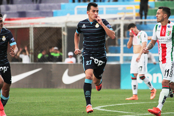 Santillán puso el empate en el Garcilaso. (Foto: José Carlos Angulo)