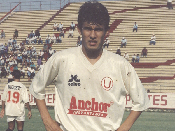 Juan Reynoso fue campeón como jugador con Universitario