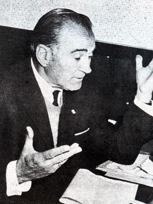 Ya con años encima, Julio Borelli dejó muchos recuerdos en Bolivia producto de sus enseñanzas (Foto: historiadelfutbolboliviano.com)