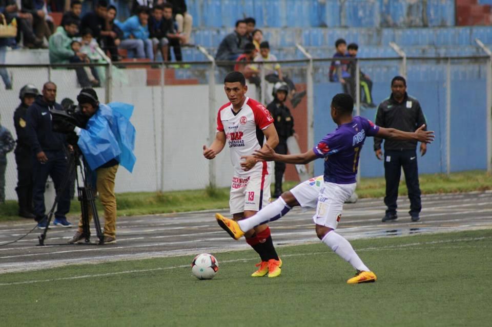 Jayo en su debut frente a UTC en Cajamarca. Derrotó al 'Gavilán' por 0-2. (Foto:Ovación Digital)