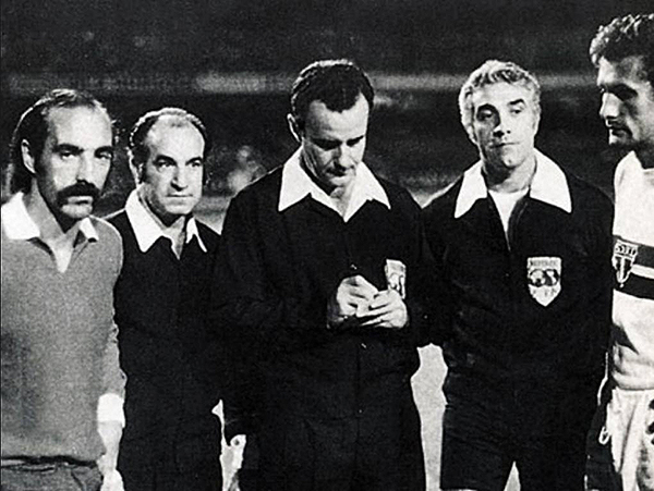 En 1974, Édison Pérez se encargó del decisivo Independiente - Sao Paulo. (Foto: Tesoros Deportivos)