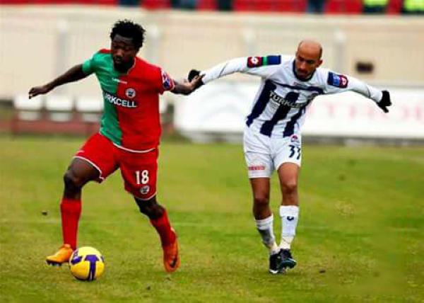 Andrés Mendoza tuvo un tormentoso paso por canchas turcas en el año 2009. (Foto: Prensa Diyarbakispor)