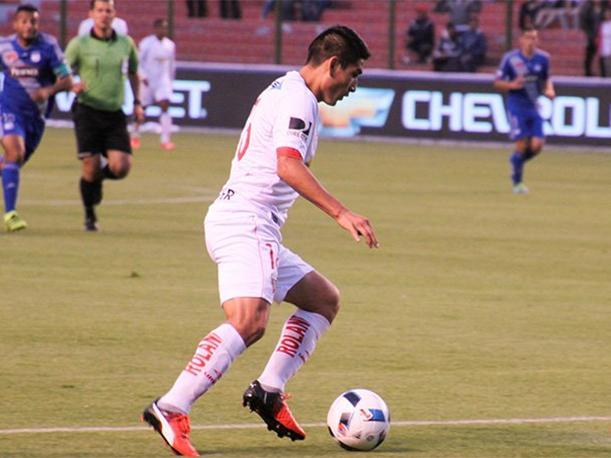 Ávila solo jugó 13 partidos en LDU y anotó 1 tanto. (Foto: prensa LDU)