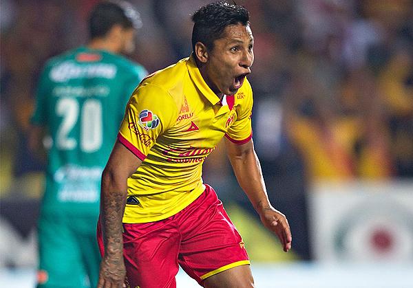 Ruidíaz tuvo un paso espectacular por Monarcas Morelia: anotó 11 goles y fue goleador del torneo. (Foto: mexsport)