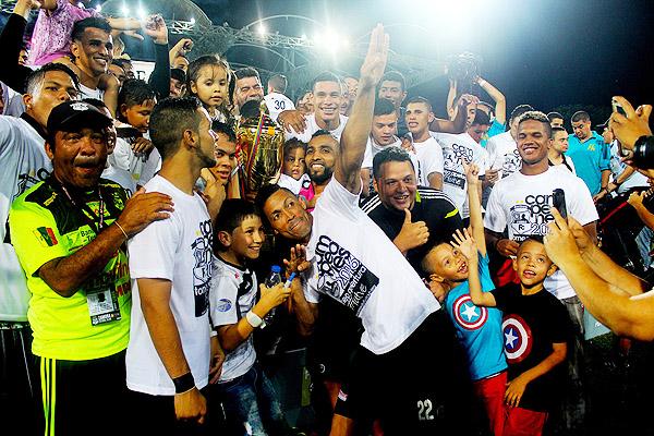 Zamora FC, el actual campeón del fútbol venezolano y nuevo equipo de Reimond Manco. (Foto: Prensa Zamora FC)