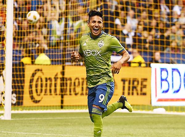 Raúl Ruidíaz llegó al Seattle para ser figura. (Foto: Prensa MLS)