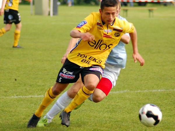 Loyola se perfila como una potencial figura en el Elfsborg. (Foto: prensa Elfsborg)