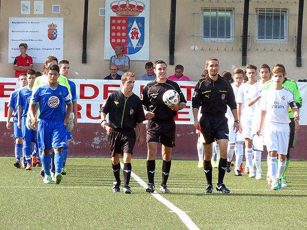 Echenausia está con posibilidades de apuntar al fútbol profesional en el Getafe. (Foto: Facebook)