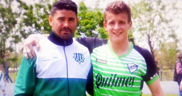 Mulet juega en la Quinta División con Quilmes. (Foto: Facebook)