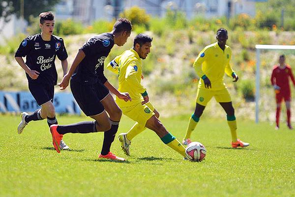 Prado ha tenido regularidad en las categorías inferiores del Nantes. (Foto: prensa FC Nantes - AD)