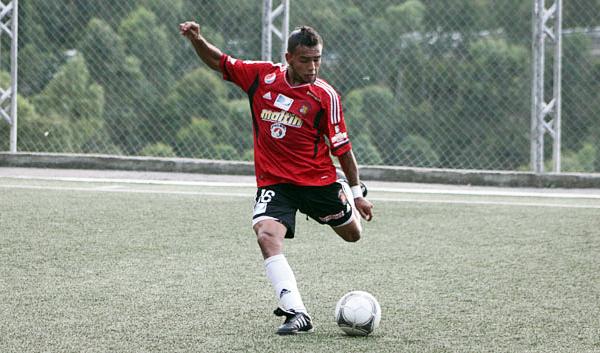 Luego de superar una lesión, George Arrieta regresó a las filas del Caracas para meterse de lleno en el equipo (Foto: caracasfutbolclub.com)