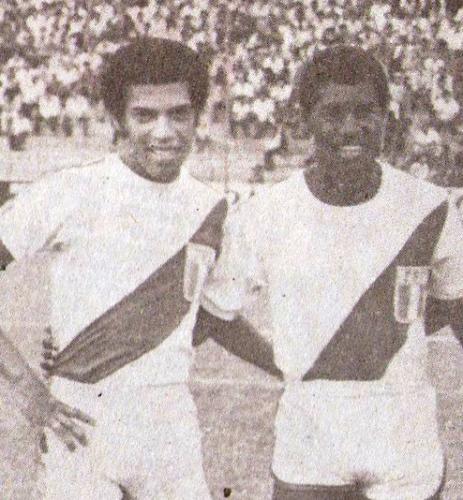 Mosquera y Uribe: antes como jugadores, ahora como técnicos. (Foto: revista Ovación)