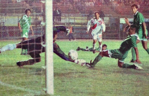 Previo a la desastrosa Copa América de Rivera, Perú obtuvo una serie de buenos resultados, como el 4-1 en 1995. (Foto: diario El Bocón)