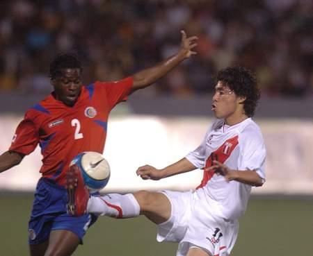 Daniel Chávez debutó con la selección adulta y fue el mejor del campo (Foto: diario La Industria de Trujillo)