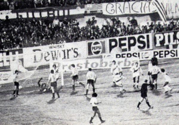 TOMA 1. A los 24 minutos del primer tiempo, Eduardo Malásquez aprovechó un centro para abrir el marcador y poner a Perú adelante en el marcador. (Foto: Revista Ovación)