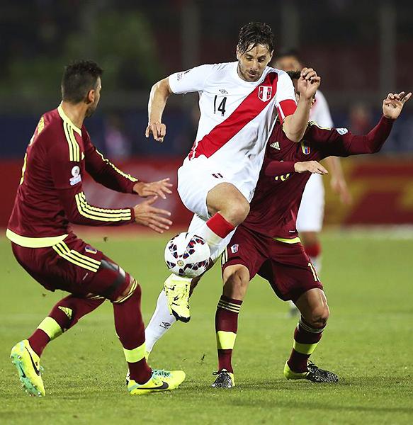 Perú pudo acabar la fase de grupos en la Copa América con 13 Puntos Relativos. (Foto: EFE)