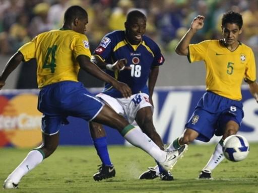 Rentería tuvo las más claras de Colombia, pero estuvo falto de puntería (Foto: FIFA.com / AFP)
