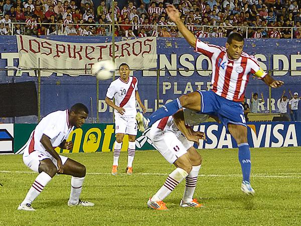 Perú dejó en Asunción una gran oportunidad para enderezar su camino en la Eliminatoria (Foto: Aldo Ramírez / DeChalaca.com)