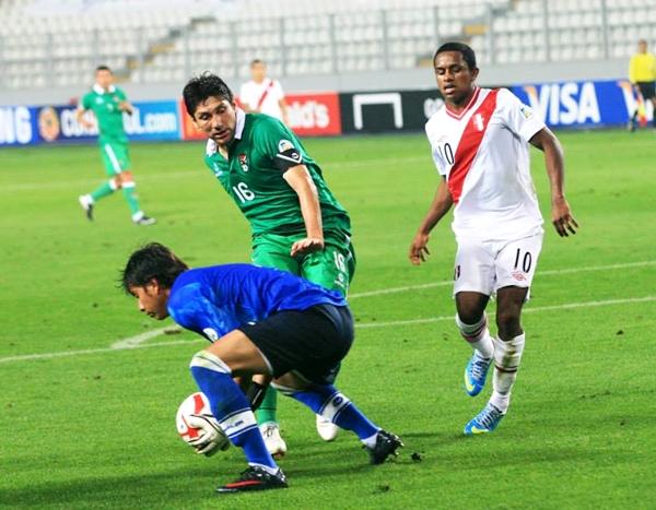 El cuadro altiplánico encontró el empate en los pies de Diego Bejarano, en adelante, la presencia de Romel Quiñones se hizo trascendente. (Foto: Luis Chacón / DeChalaca.com)