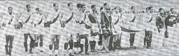 A diferencia del anfitrión, Perú llegaba a los Juegos Bolivarianos con bastante roce internacional y era favorito para adjudicarse el título (Recorte: diario La Crónica)