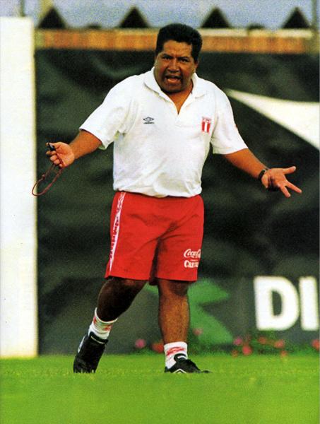 El nombre de Luis Bolaños volvió a sonar fuerte en el fútbol peruano cuando pareció seguro su contrato como técnico de la Sub-15 (Recorte: revista Don Balón Perú)