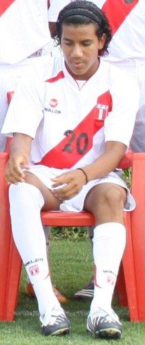 20. GIOVANNI MORALES. Se lesionó a escasas horas del viaje a Iquique y fue sustituido por Rodrigo Ventura (Foto: DeChalaca.com)