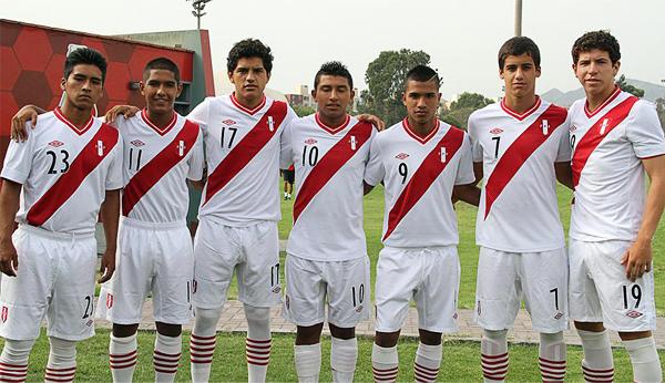 Carlos Orbegoso, Henry Vega, John Barrueta, Yamir Oliva, Dangelo Artiaga, Humberto da Silva y Adrián Ugarriza (Foto: Prensa FPF)