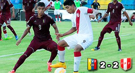 Perú, Venezuela, Iberico, Farisato, Reyna, Bolívar, Oré, Sub17
