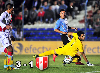 Uruguay, Perú, Sub20, Sudamericano, Pereiro, Grados, Arambarri