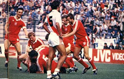 Junio de 1982: Polonia fue una avalancha en el segundo tiempo contra Perú y lo eliminó del Mundial de España con un triste e inolvidable 5-1 (Foto: perufootball.4t.com)