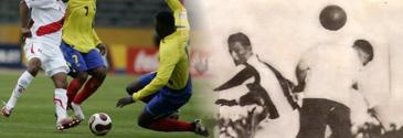 Fotos: EFE / Historia del Fútbol Peruano, Reco Borodi