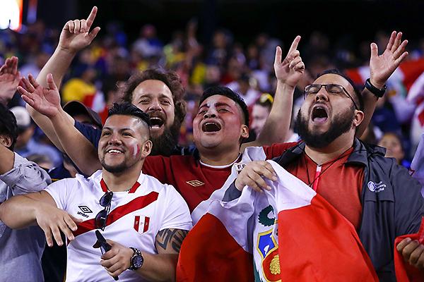 Los hinchas jugaron un papel importante en la campaña de la selección. (Foto: Andina)