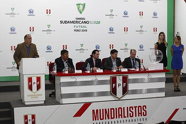Perú fue organizador del Sudamericano Sub-20 de Futsal en 2018. (Foto: Prensa FPF)