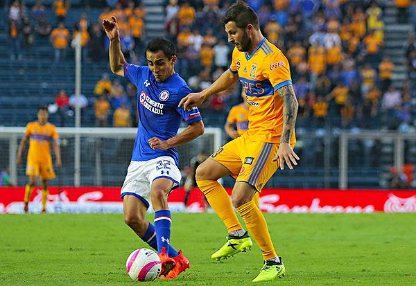 Cruz Azul - Tigres UANL (Foto: Mexsport)